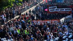 Des manifestants anti-G20 affrontent la police à Hambourg: 76 policiers