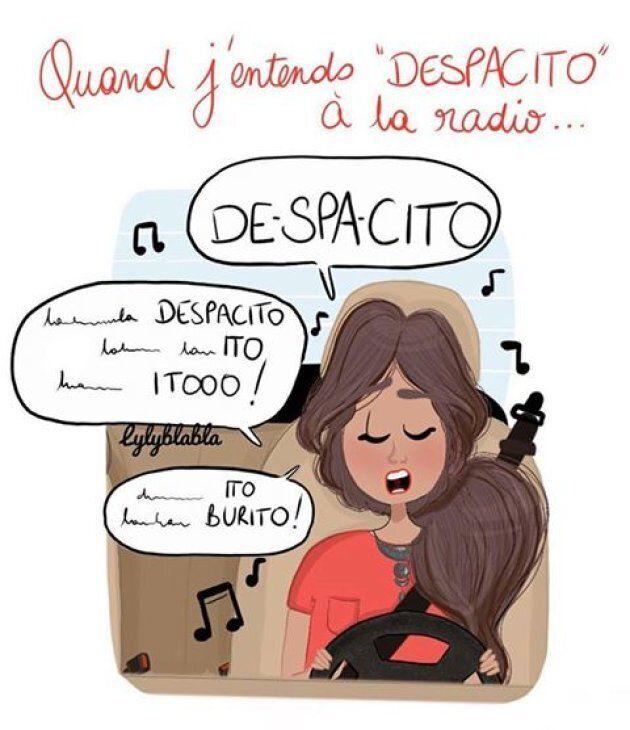 Ce dessin sur «Despacito» résume parfaitement ce qu'il se passe quand on écoute la