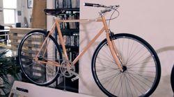 Découvrez un nouveau vélo urbain fait à la main à Montréal
