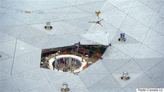 Chine : un télescope géant pour détecter des