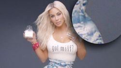 Kim Kardashian répond à ceux qui l'accusent d'être retouchée dans le clip de