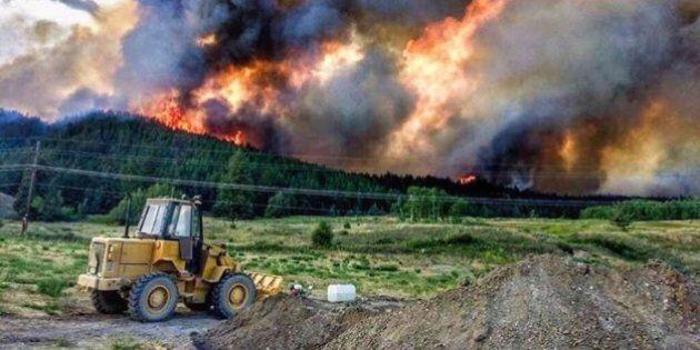 Feux de forêt: la Colombie-Britannique décrète l'état