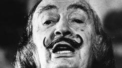 La moustache de Salvador Dali est intacte, 28 ans après sa