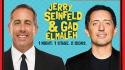 Festival Just for Laughs: Gad Elmaleh et Jerry Seinfeld réunis en pure