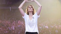 Céline Dion rend hommage aux victimes de l'attentat de
