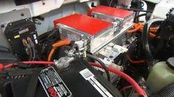 Un moteur à essence devenu électrique