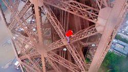 Ils escaladent la Tour Eiffel sans aucune protection