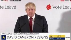 Boris Johnson fait son entrée sur