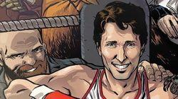 La bande dessinée mettant en vedette Trudeau est en vente
