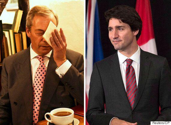 Brexit : Justin Trudeau n'aurait pas dû s'en mêler, critique Nigel