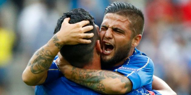 Football Soccer - Italy v Spain - EURO 2016 - Round of 16 - Stade de France, Saint-Denis near Paris,...