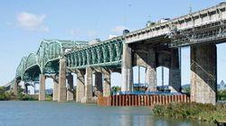Accident sur le pont Champlain en direction de Montréal, secteur à
