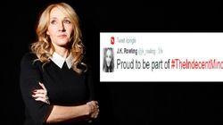 Pourquoi JK Rowling est «fière» d'être dans «la minorité