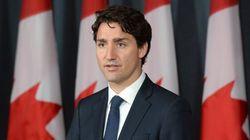 Justin Trudeau réagit au