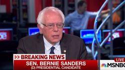 Sanders votera pour