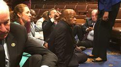 Spectaculaire sit-in de 15 heures au Congrès pour le contrôle des armes à feu