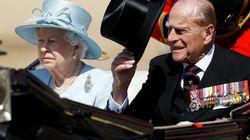 Le prince Philip, époux d'Elizabeth II, tire sa