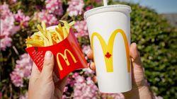 McDonald's vous donne des frites gratuites cette