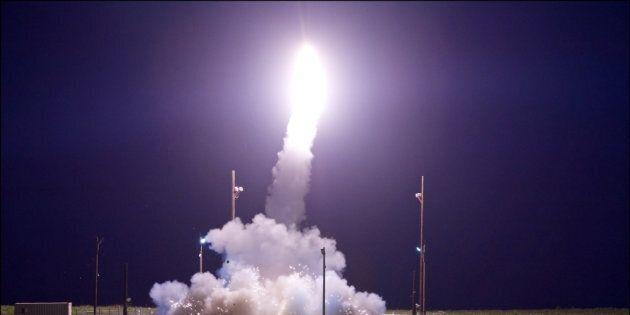 Les États-Unis ont testé un missile balistique intercontinental non