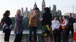 Trudeau souligne la Journée nationale des Autochtones en canot