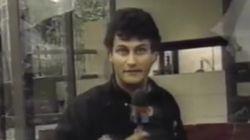Une vidéo de Gérard Deltell dans les années 90 refait