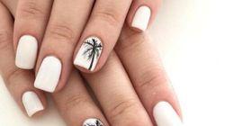 Du nail art inspiré de la plage parfait pour l'été