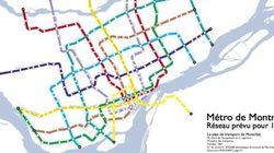 Neuf plans d'extension du métro qui n'ont jamais vu le jour