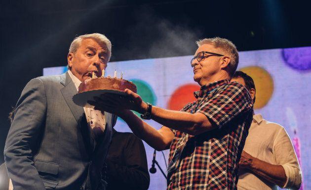 Festival d'été de Québec 2017: Michel Louvain ravit ses Dames en