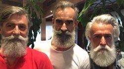 Le mannequin français de 60 ans s'est trouvé des amis à