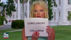 Kellyanne Conway prend les téléspectateurs pour des idiots. Ils se sont