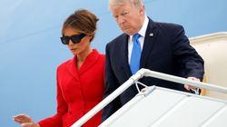 Tapis rouge pour Trump à Paris, loin des ennuis de