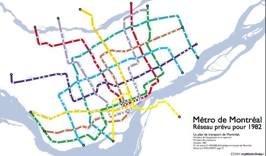 Rêver le métro: La petite histoire du prolongement du métro de Montréal en 12 dates, du succès à