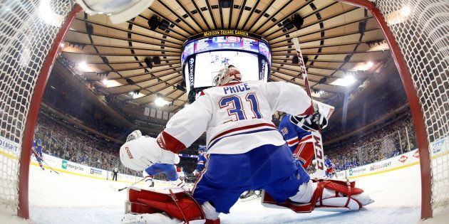 Carey Price, le gardien vedette du Canadien a signé une prolongation de contrat qui lui rapportera en...