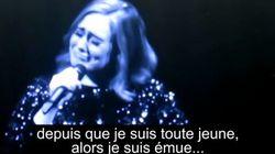 En pleurs, Adele a dédié son concert aux victimes de la tuerie d'Orlando
