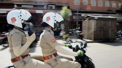 Des policières à moto pour protéger les femmes en