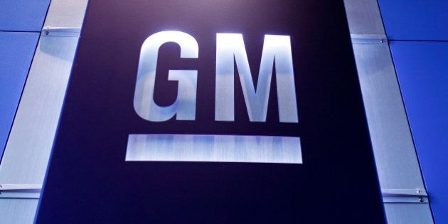WARREN, MI - JUNE 5: A General Motors logo is shown at the General Motors Technical Center, where today Chief Executive Officer Mary Barra held a press conference on June 5, 2014 in Warren, Michigan. Barra spoke to provide an update on GM's internal investigation into the ignition switch recall at the General Motors Technical Center. (Photo by Bill Pugliano/Getty Images)