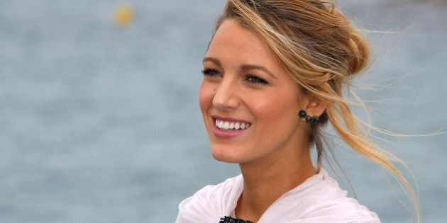 Cast member Blake Lively poses during a photocall for the
