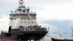 Russie : mise à l'eau d'un brise-glace militaire pour la 1ère fois en 45