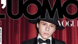 Brooklyn Beckham en couverture de L'Uomo