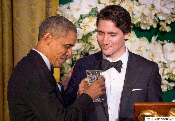 Obama a offert un scénario de Star Wars autographié à Justin Trudeau pendant sa visite à