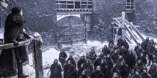D'où proviennent les capes de la «Night's Watch» de «Game of Thrones»? De