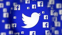 Réseaux sociaux: Facebook caracole, Twitter mord la