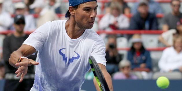Cette semaine, à la Coupe Rogers, j'ai cédé mon coeur à Rafael Nadal.