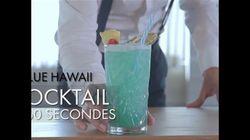 Cocktail en 60 secondes : Blue