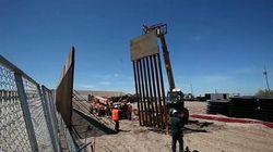 Le mur-frontière avec le Mexique pour