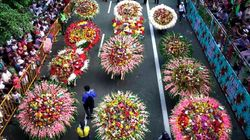 Le Festival des fleurs de Medellin célèbre 60 ans de tradition et c'est