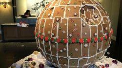 Star Wars: un génie a construit une «Étoile noire» en pain
