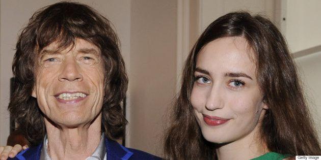 Elizabeth, la fille de Mick Jagger, dévoile une photo et le drôle de prénom de son petit