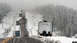 Conditions routières et météo difficiles : carambolage sur l'autoroute