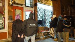 Descente policière dans des magasins de cannabis à